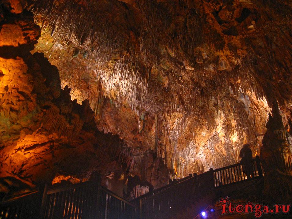 соляная пещера Алании, пещеры в Турции,
