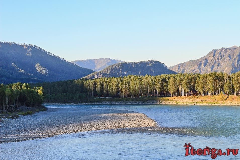 река Катунь, Алтай,
