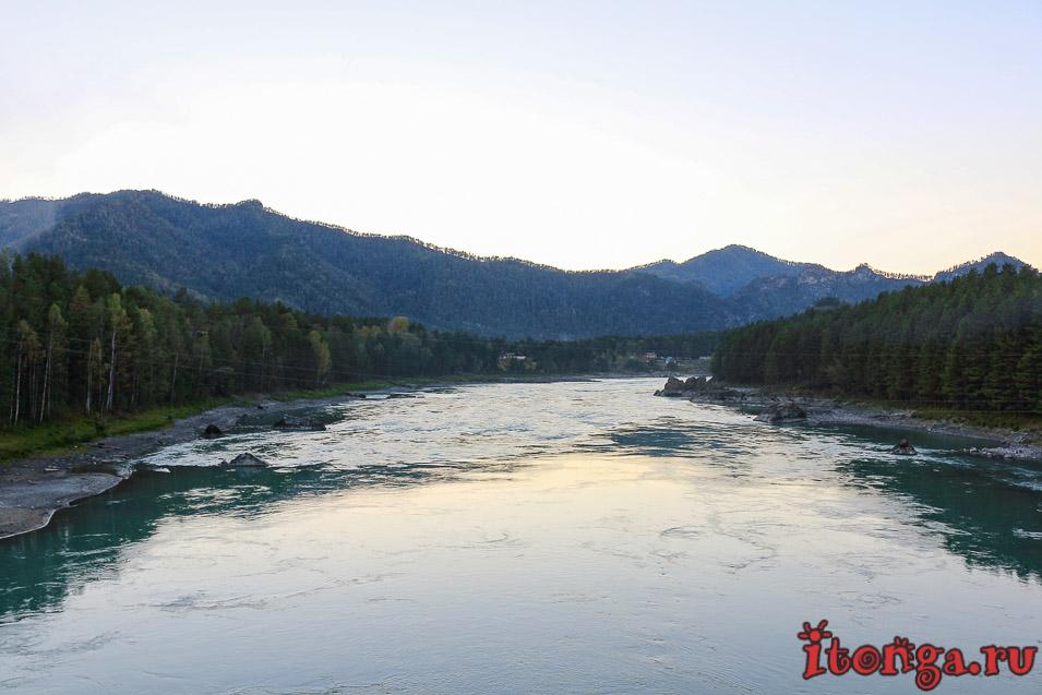 река Катунь,