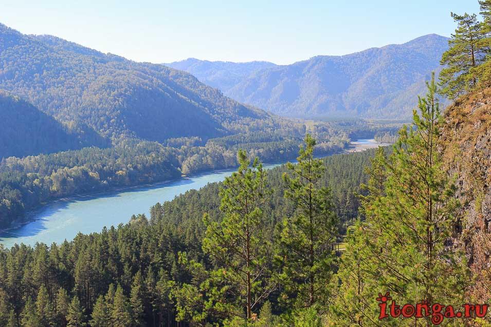 долина реки Катунь,