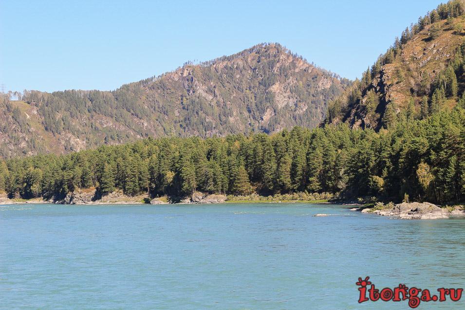 река Катунь Горный Алтай,
