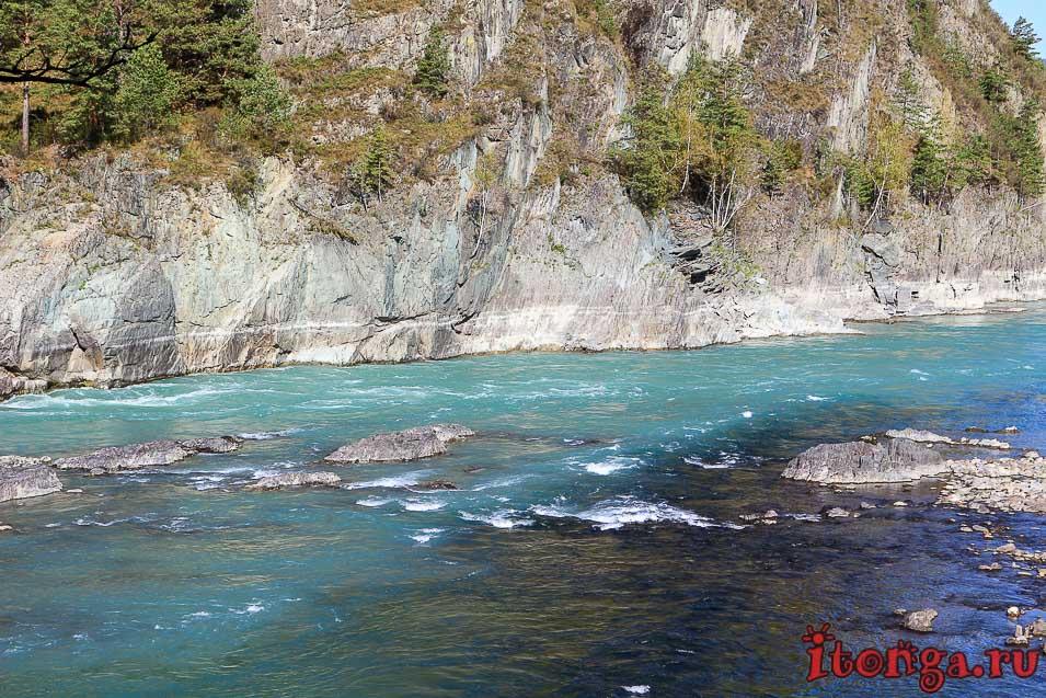 Горный Алтай, река Катунь, красивые фото,
