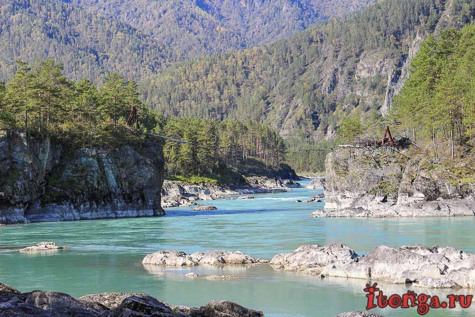 Горный Алтай, река Катунь, красивые фото, ворота Сартакпая,