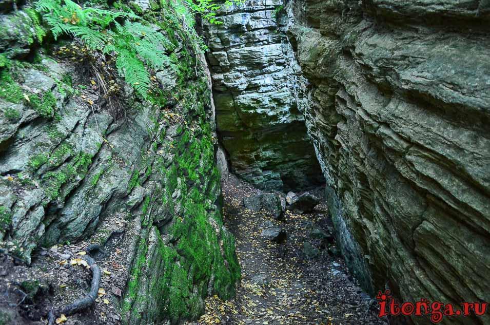пещера Колчака в Кузедеево, Кузедеевский разлом,