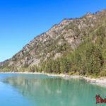 Река Катунь Горный Алтай - река бирюзового цвета