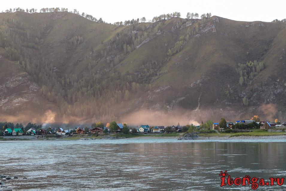 река Катунь Горный Алтай, бирюзовая река Катунь,