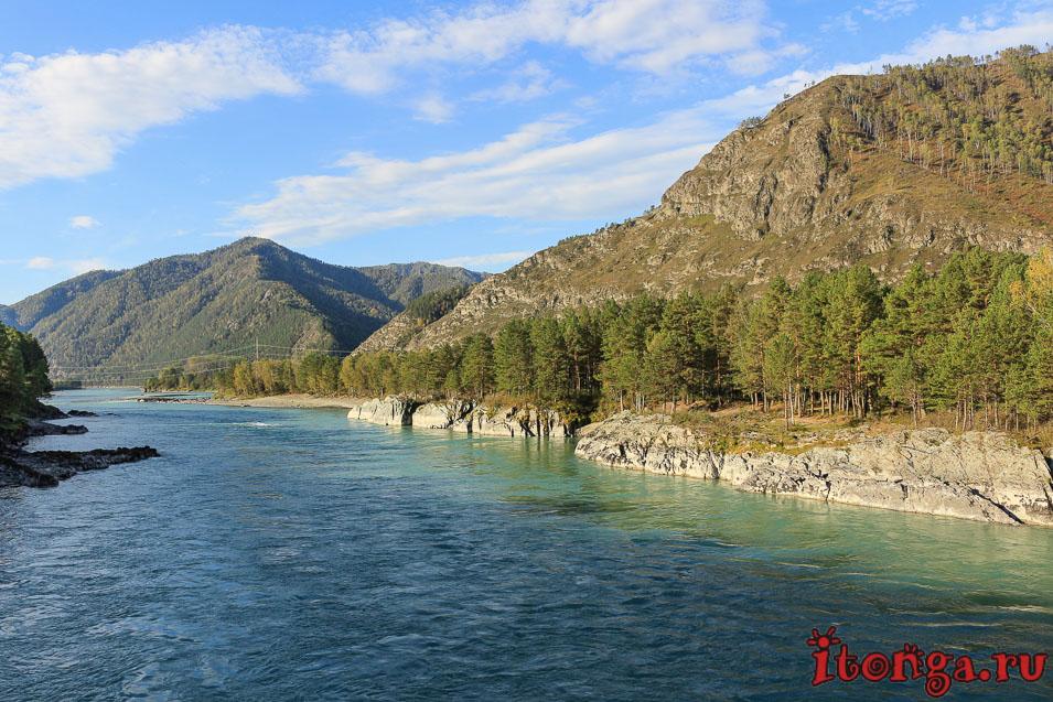 Горный Алтай, река Катунь,