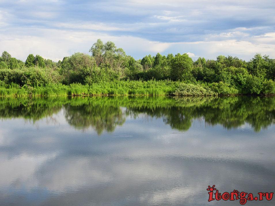 озеро Калтарак в Калтане, Кузбасс,