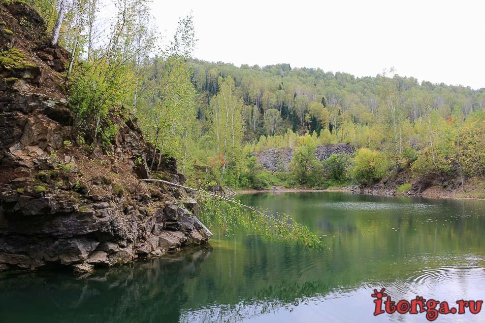 Тельбесское озеро
