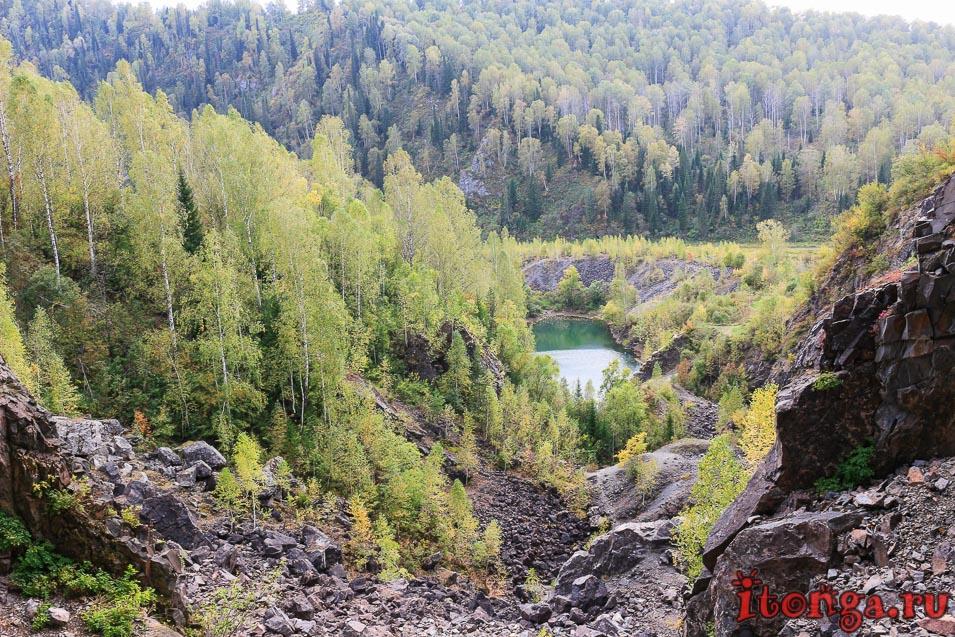 Озеро Тельбес, Кемеровская область
