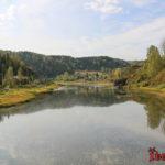 Тельбес - посёлок, озеро и заброшенный рудник
