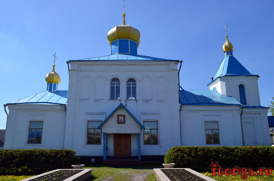 салаир, беково, церковь великомученика Пантелеймона