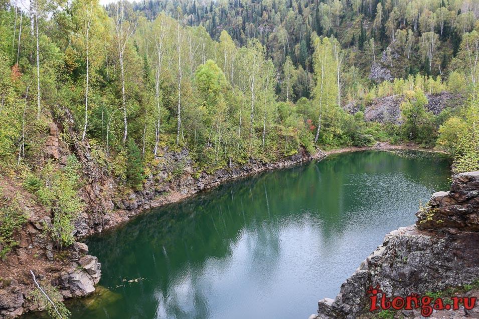 Озеро Тельбес