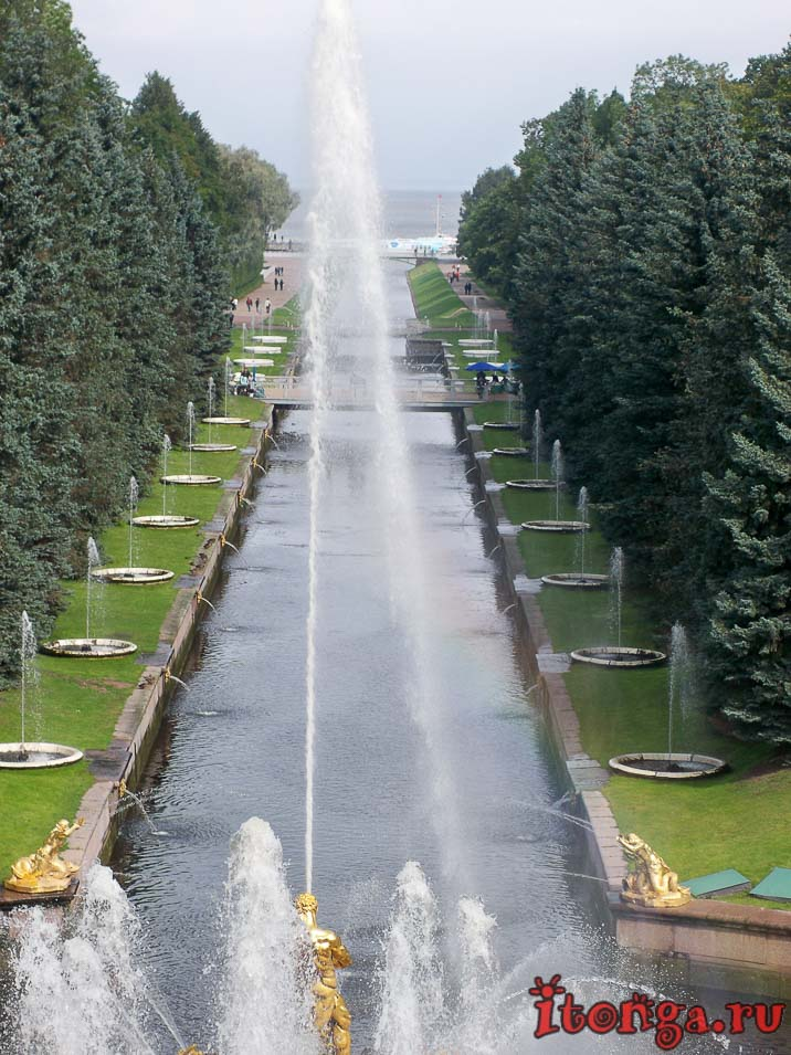 дворцово-парковый ансамбль петергоф, финский залив