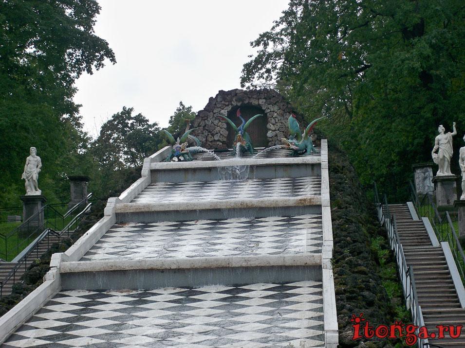 фонтан Шахматная доска, нижний парк, дворцово-парковый ансамбль петергоф