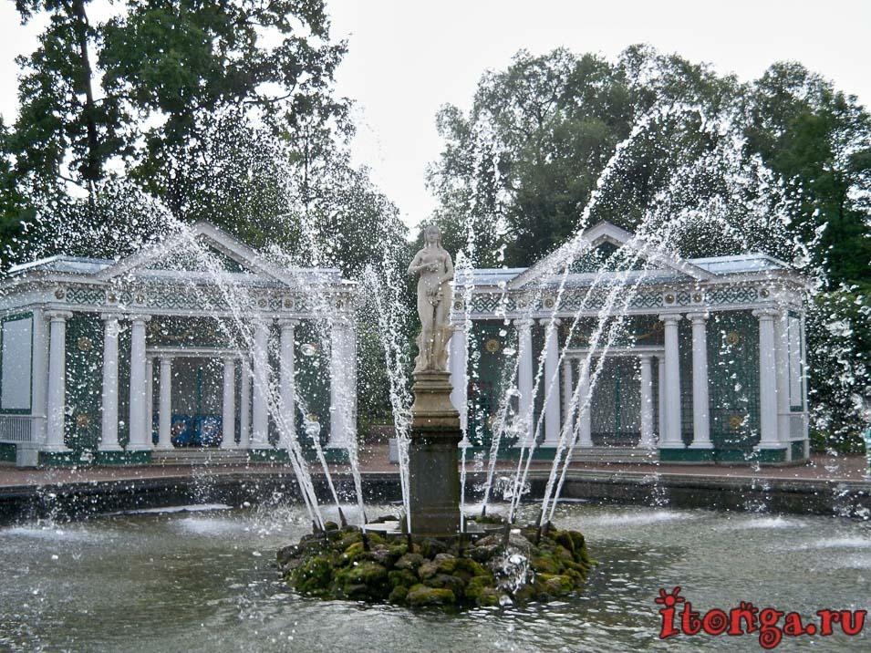 фонтан ева, нижний парк, дворцово-парковый ансамбль петергоф
