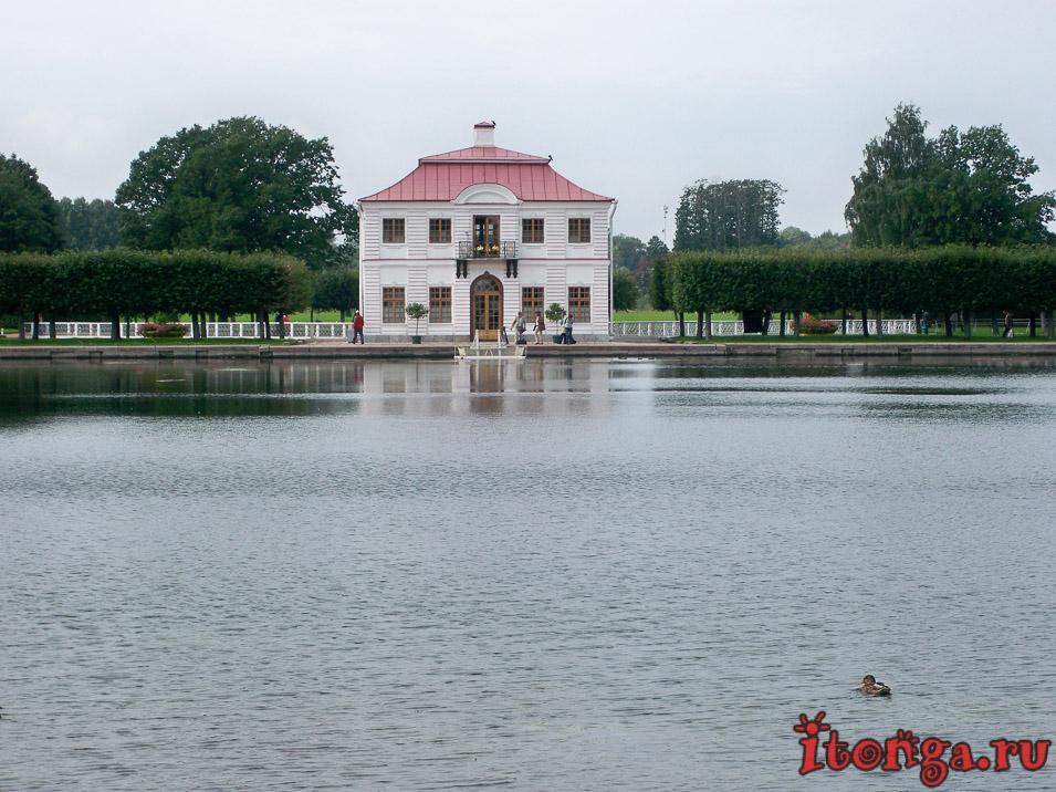 дворец Марли, дворцово-парковый ансамбль петергоф