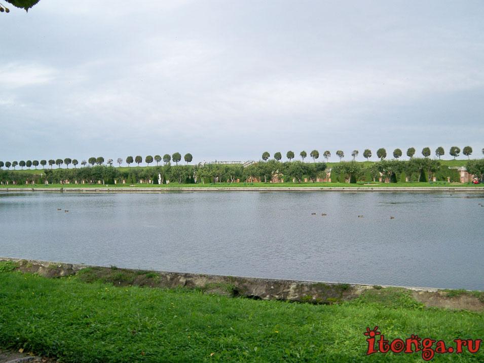 дворец Марли, нижний парк