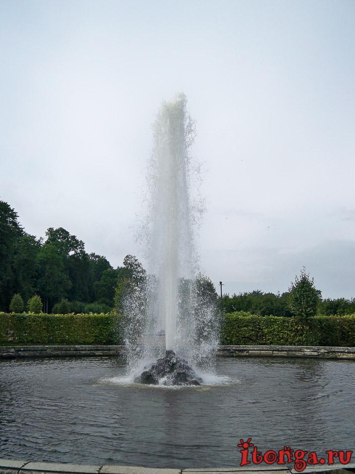 фонтаны менажерные, дворцово-парковый ансамбль петергоф