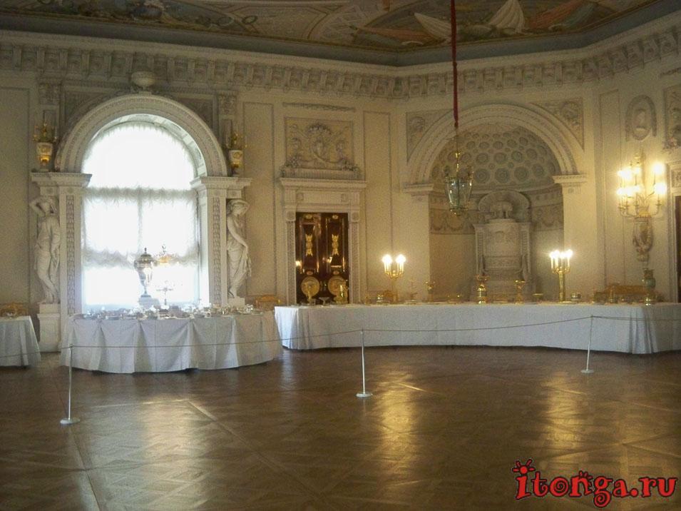 павловск, дворец, тронный зал
