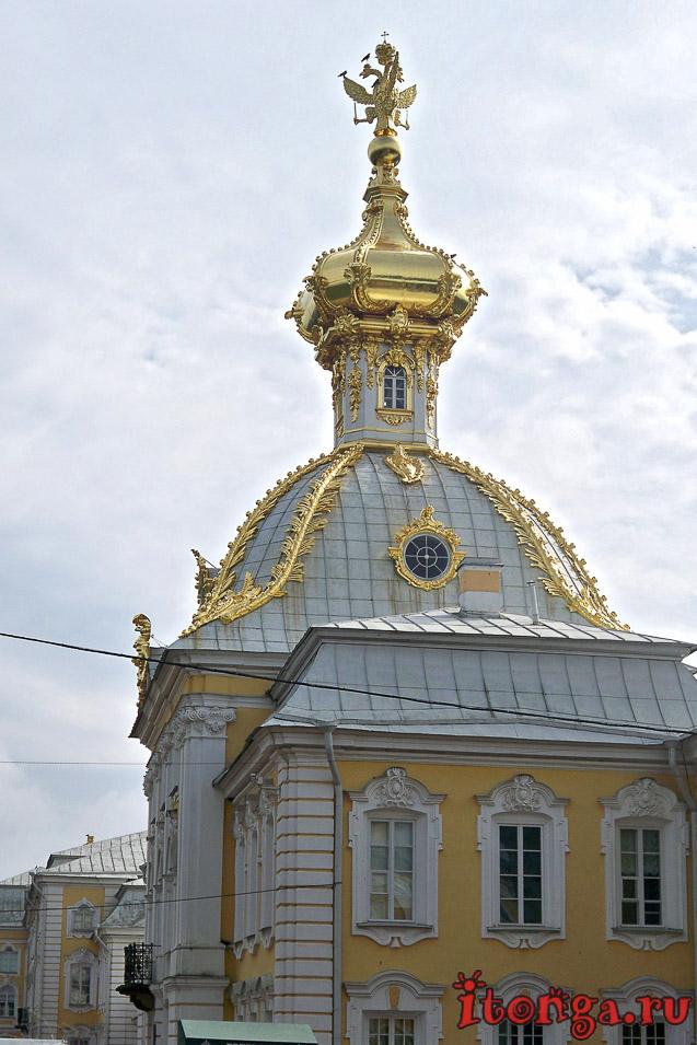большой дворец, петергоф