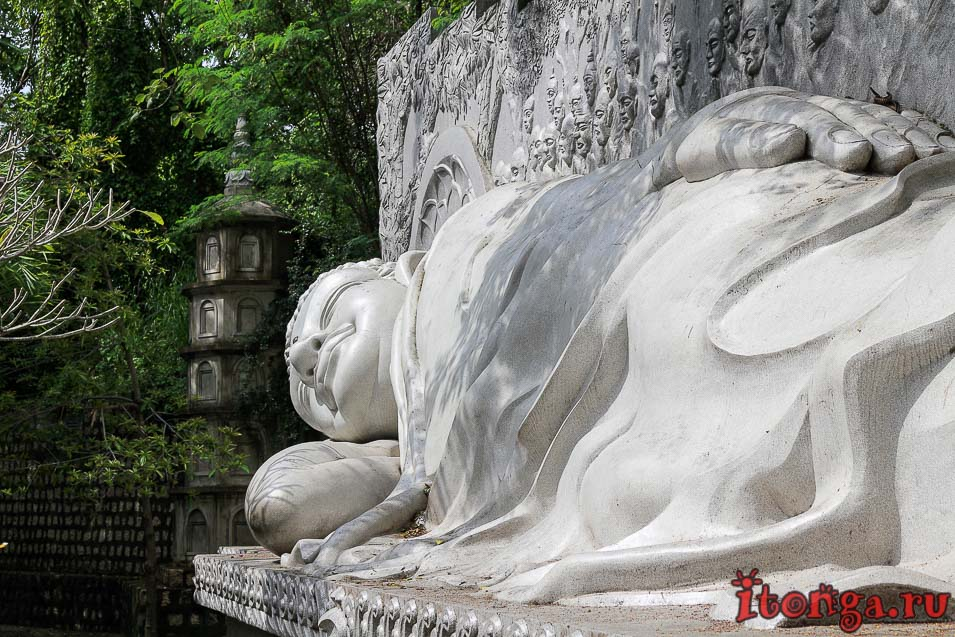 Лонг Шон, Нячанг, лежачий Будда, Вьетнам,