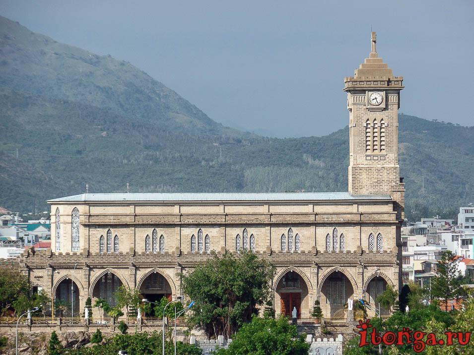 Кафедральный собор в Нячанге, католическая церковь,