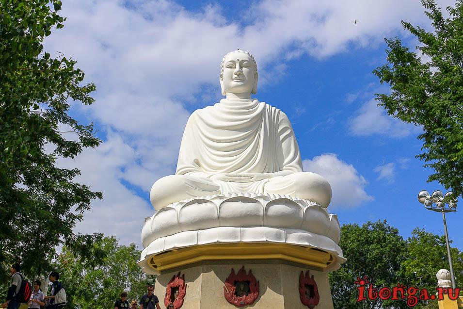 белый Будда, Нячанг, большой Будда,