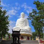 Нячанг. Пагода Лонг Шон и большой белый Будда