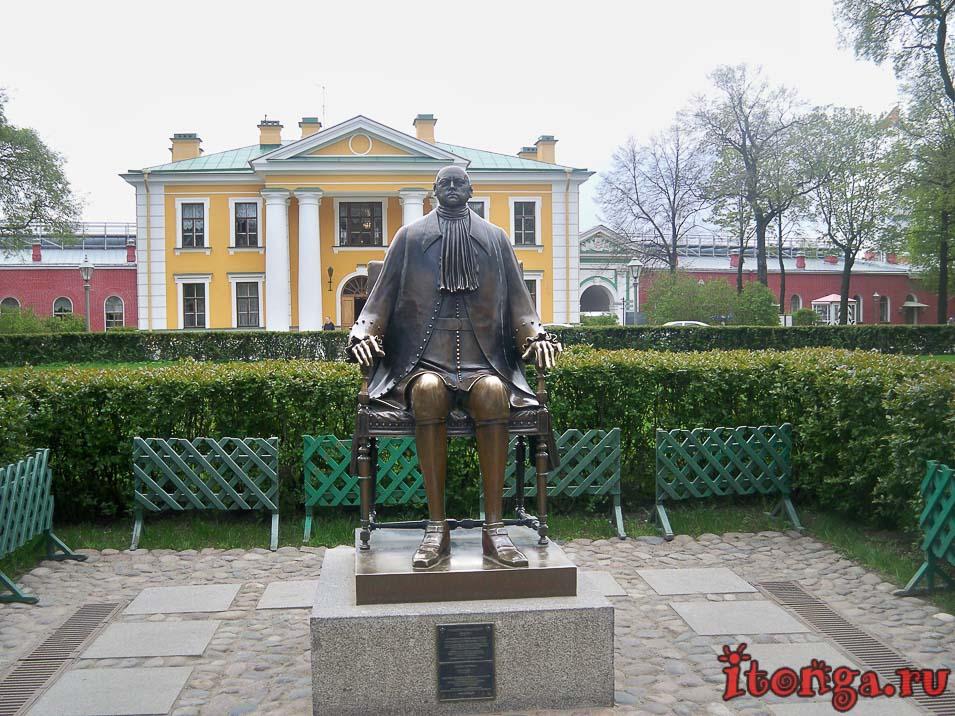 петропавловская крепость, петр I, памятник