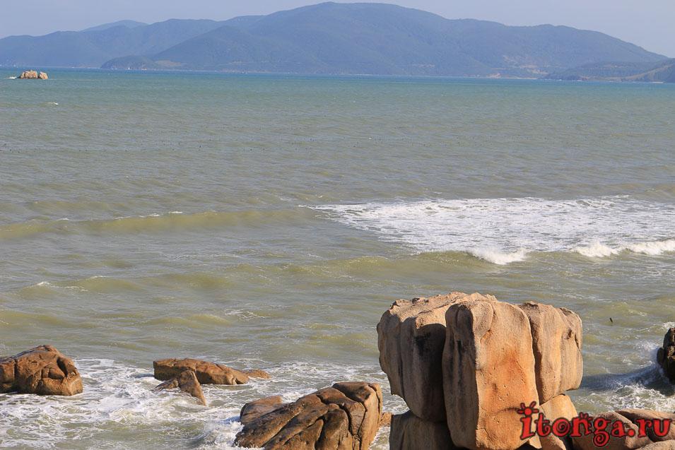 мыс Хон Чонг, Нячанг, сад камней,