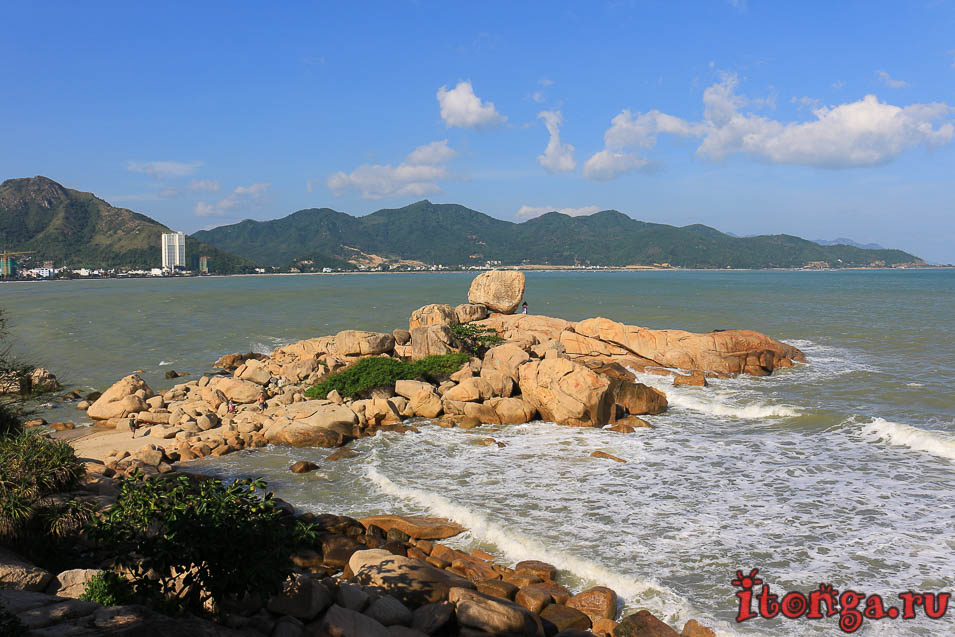Сад камней, Нячанг, мыс Хон Чонг,