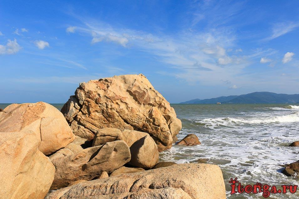 мыс Хон Чонг, Нячанг, каменный сад,