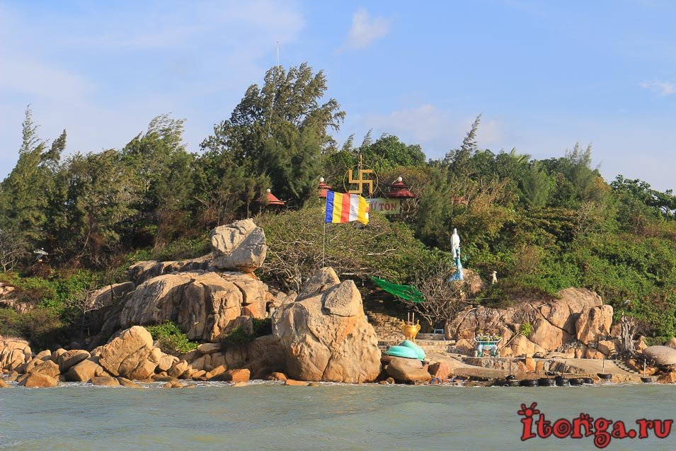 остров хон до, Нячанг, храм, пагода
