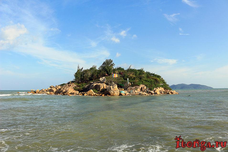 остров хон до, храм, пагода