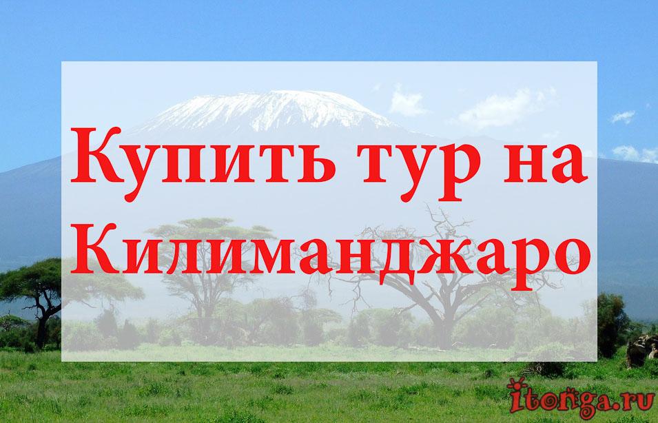 Купить тур на Килиманджаро, туры на Килиманджаро, Танзания
