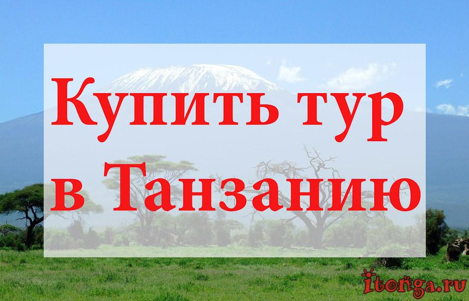 Купить тур в Танзанию, туры в Танзанию