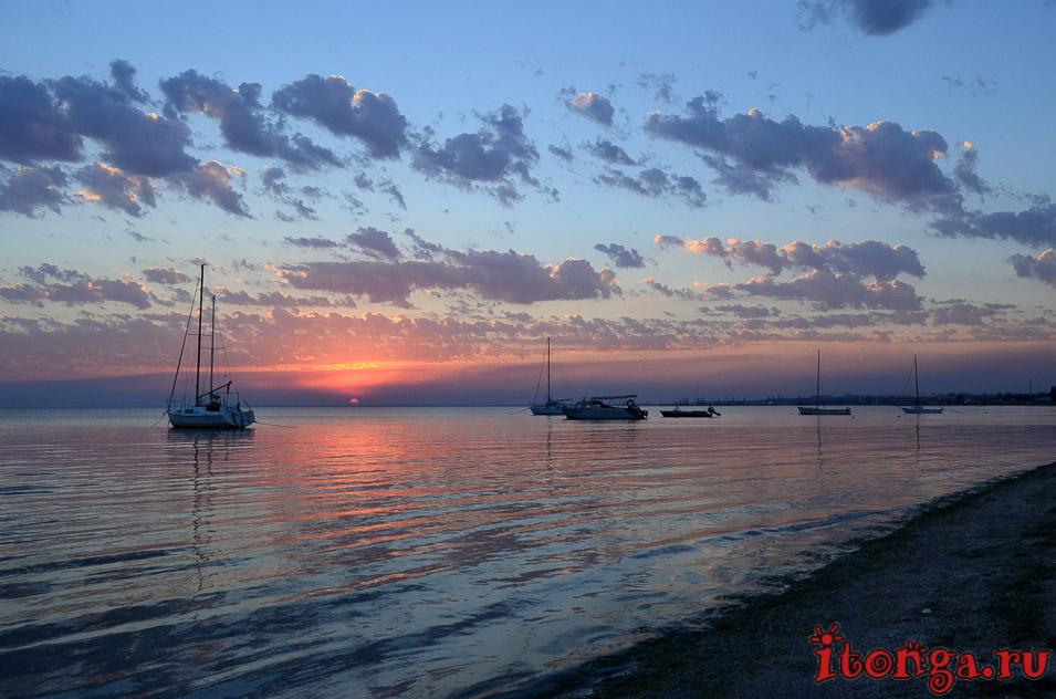 азовское море, закат