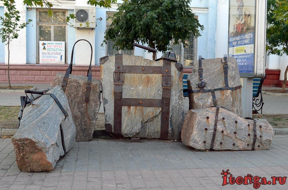 бердянск, азовский проспект, памятник