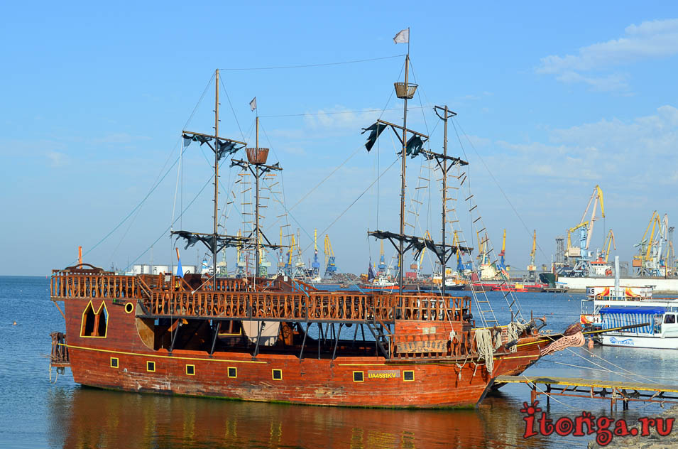 бердянск, морская прогулка