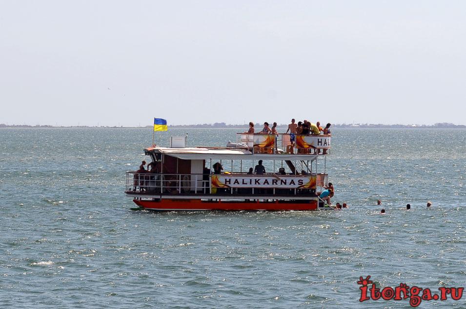 азовское море, морская прогулка, корабль