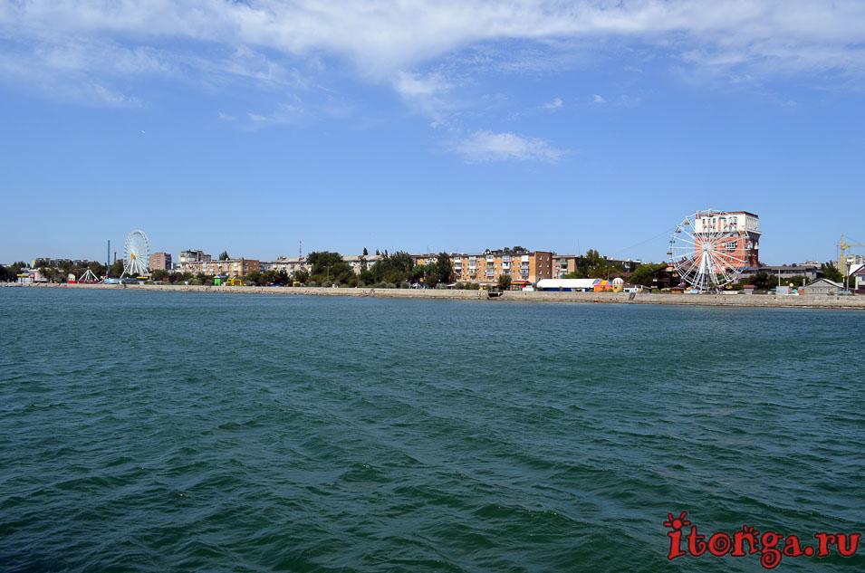 азовское море, набережная