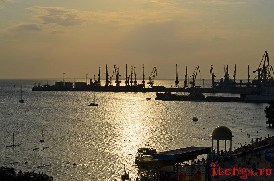 бердянск, набережная, морской порт