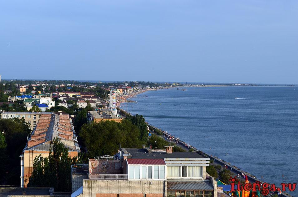 набережная, центральный пляж, бердянск