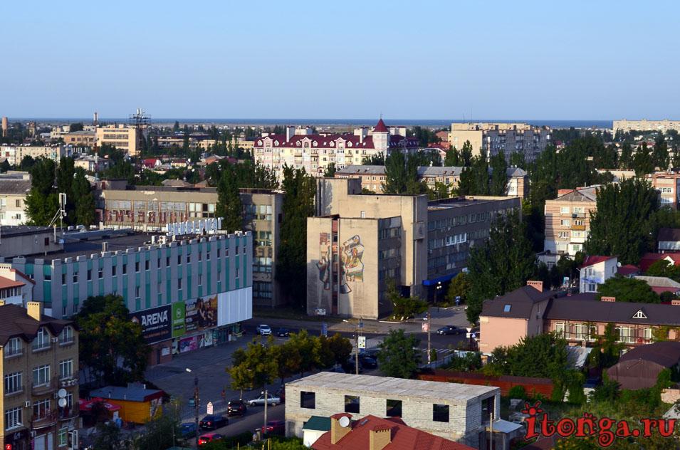 бердянск, набережная