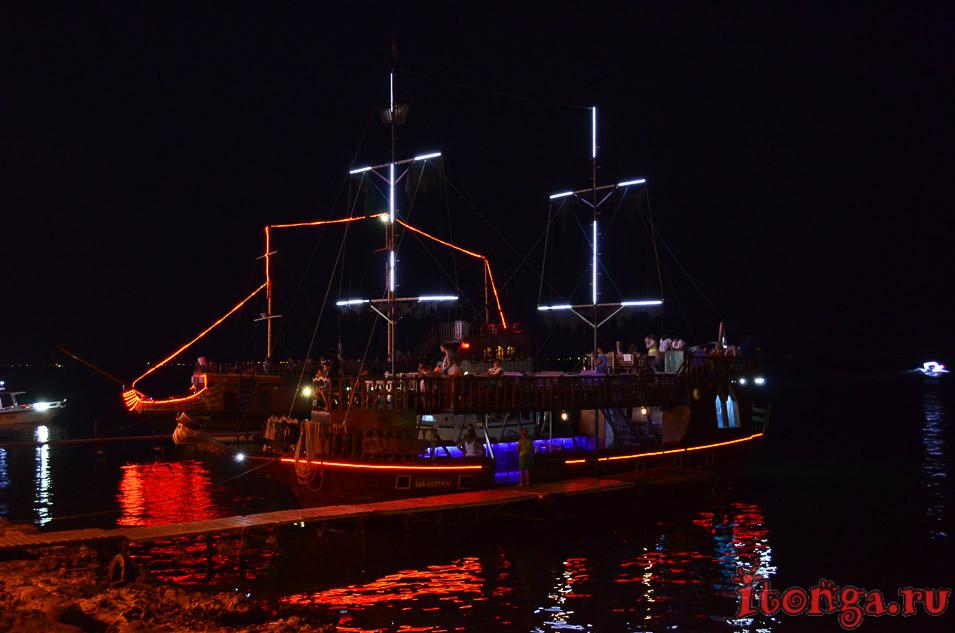 бердянск, набережная, корабль