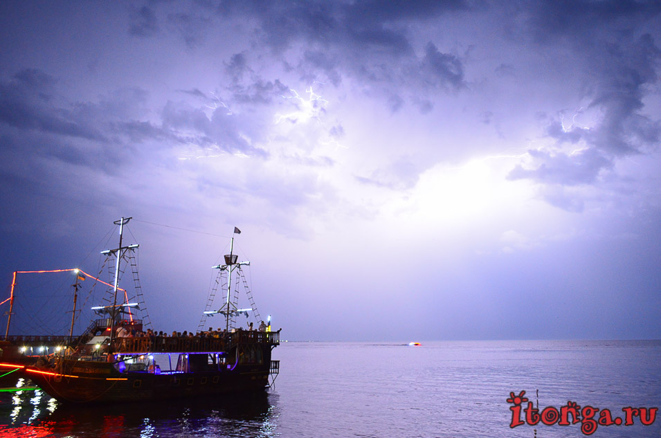 бердянск, гроза, азовское море
