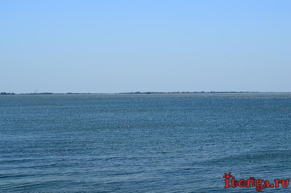 бердянская коса, азовское море