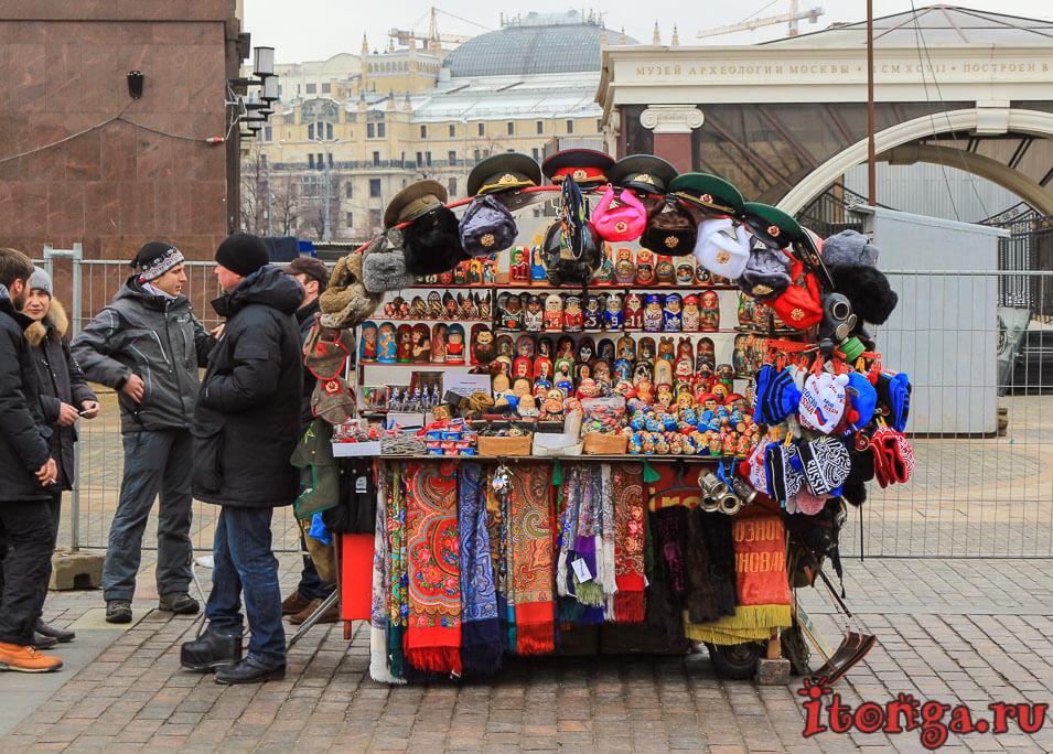 обзорная экскурсия по Москве на автобусе, красная площадь