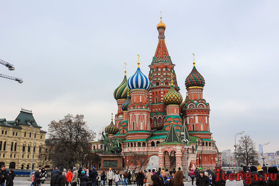 Москва, Красная площадь, Покровский собор, храм Василия Блаженного